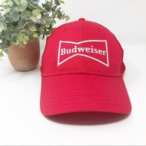 Budweiser Trucker Mesh Snap Back Hat